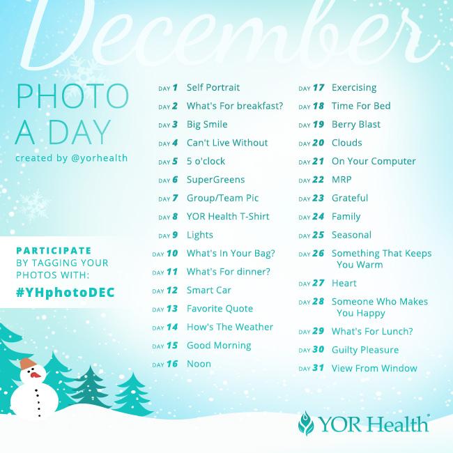 YOR Health Photo A Day December