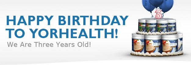 YOR Health 3rd Birthday