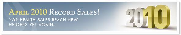 April 2010 Record Sales!