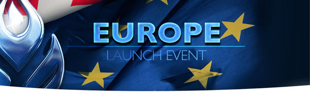 Europe Launch Event Banner
