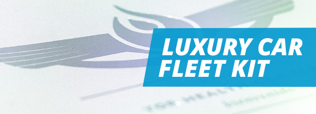 Luxury Car Fleet Kit Banner