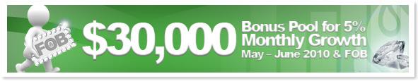 $30,000 Bonus Pool for 5% Monthly Growth!