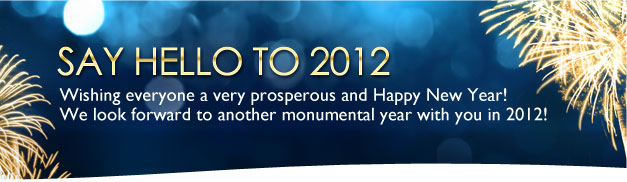 New Year 2012 Banner