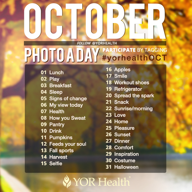 YOR Health Photo A Day October