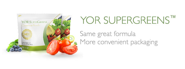 YOR SuperGreens Convenience Bag Banner
