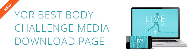 YOR Best Body Challenge Media Download Banner