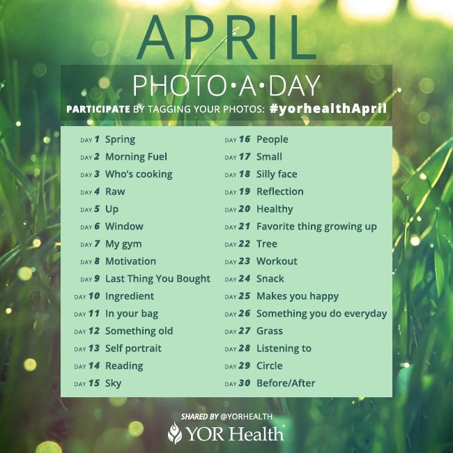 YOR Health Photo A Day March