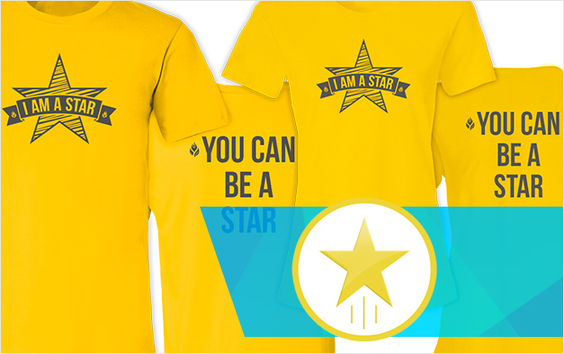 Be A Star T-Shirts