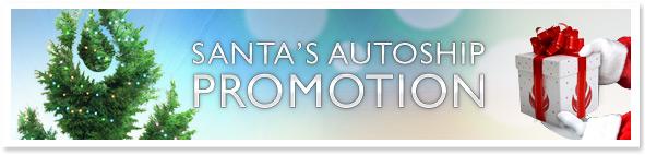 Santas Autoship Promo Banner