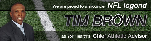 Tim Brown and YOR Health