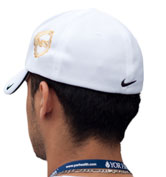Nike Golf Dri-Fit Mesh Cap Back White