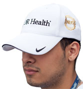 Nike Golf Dri-Fit Mesh Cap Front White