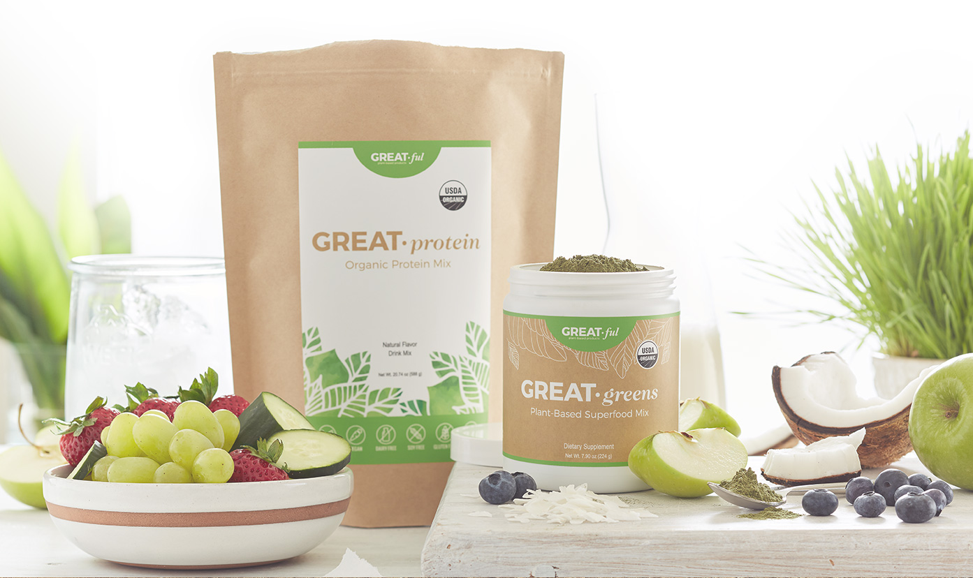 greatful plant-based products